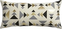 Cb2 Blaney 23''X11'' Pillow With Feather Down Insert