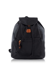 Bric's X Travel Black Nylon Backpack