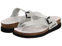 Mephisto Helen Off White Leather Women's Sandals Bone