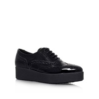 Carvela Leslie Lace Up Trainers Black