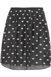 Iris And Ink Georgette Skirt Black