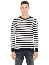 S.O.H.O New York Striped Wool Sweater