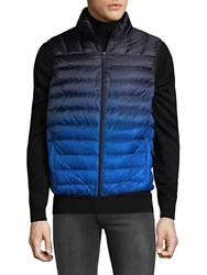 Hawke And Co Down Fill Puffer Vest Ombre Hawk