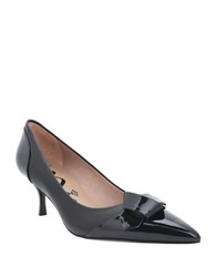 Nina Prezley Pointed Cap Toe Leather Black
