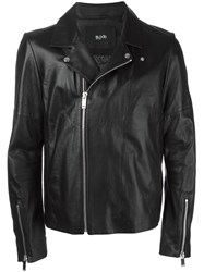 Blood Brother Zip Up Biker Jacket Black