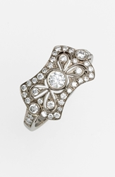 Kwiat 'Vintage Bow Tie' Diamond Ring White Gold