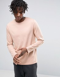 Asos Long Sleeve T Shirt Pink