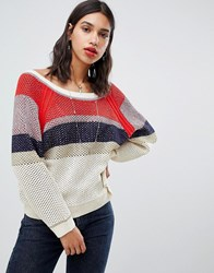 Baandsh Striped Oversized Jumper Multi