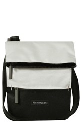 Sherpani Small Pica Crossbody Bag White Birch