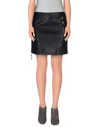 Scee By Twin Set Mini Skirts Black