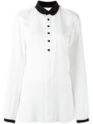 Y's Shoulder Straps Shirt White