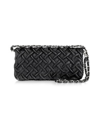 Fontanelli Pleated Nappa Leather Clutch