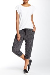 Central Park West Spacedye Pleated Jogger Black