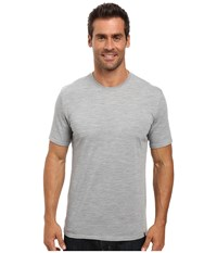Royal Robbins Go Everywhere Tee Light Pewter Men's T Shirt Silver