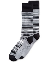 Alfani Men's Variegated Stripe Socks Only At Macy's R Tonal