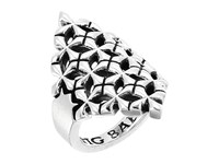 King Baby Studio Mb Cross Shield Ring Silver Ring