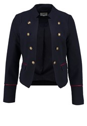 S.Oliver Denim Blazer Midnight Blue Dark Blue
