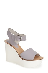 Topshop 'Wedding' Wedge Sandal Women Purple Multi