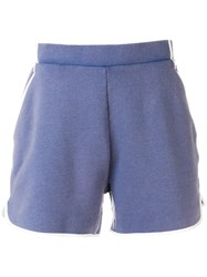 Maison Kitsune Classic Fitted Shorts Blue