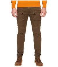 Belstaff Felmore Moto Stretch Cotton Chino Pants Sable Men's Casual Pants Brown