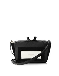 Aspinal Of London Marylebone Monochrome Mix Mini Clutch Black