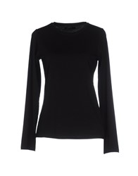 Alpha Massimo Rebecchi Topwear T Shirts Women Black