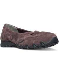 Skechers Women's Ballet Kicks Athletic Flats From Finish Line Plum