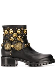 Albano Rounded Stud Embellished Boots 60