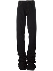 Y Project Extended Leg Jeans Black