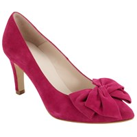 John Lewis Avril Bow Stiletto Court Shoes Pink