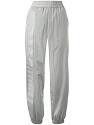 Alexander Wang T By Track Trousers Silver