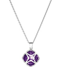 Chopard Imperiale White Gold And Amethyst Pendant Necklace