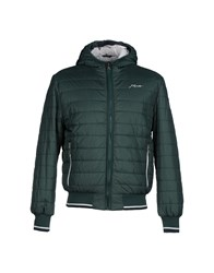 Joe Rivetto Coats And Jackets Jackets Men Green