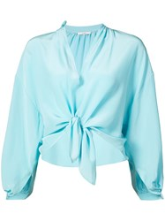 Tome Bow Tied Cropped Shirt Unavailable