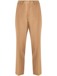 Red Valentino Slim Fit Cropped Trousers 60