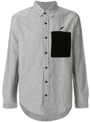 Publish Single Pocket Shirt Grey