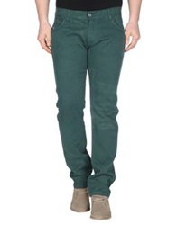 S D Side Casual Pants Dark Green
