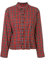 Current Elliott Tella Shirt Red
