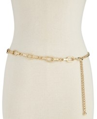 Inc International Concepts I.N.C. Metal Chain Belt Created For Macy's Gold
