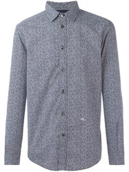 Diesel Speckle Print Shirt Blue