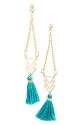 Women's Cara 'Regatta' Tassel Drop Earrings