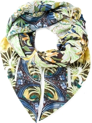 Mary Katrantzou 'Swan' Scarf Green
