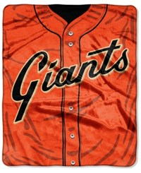Northwest Company San Francisco Giants Raschel Strike Blanket Black