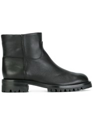 Helmut Lang Ankle Pull On Boots Black