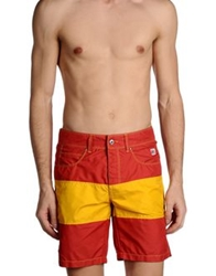 Roy Rogers Roy Roger's Swimming Trunks Red