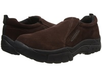 Roper Performance Slip On Brown Suede Men's Slip On Shoes
