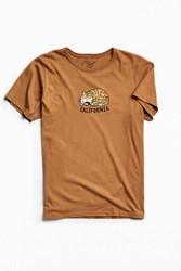 Mowgli Surf California Cat Tee Brown
