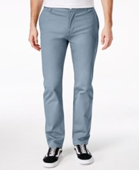 Wesc Men's Eddy Chinos Blue Graphite