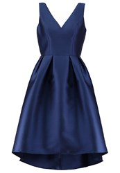 Chi Chi London Quinnie Cocktail Dress Party Dress Navy Dark Blue