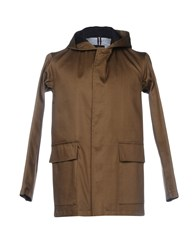 Gloverall Overcoats Military Green